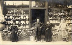old French shop, photographer unknown