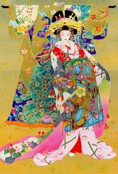 Haruyo Morita (1945) Looks like Spring has sprung with this riot of colors represented here.