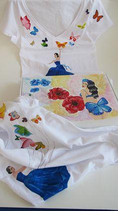 painted tshirts and carton box Carton Box, Painted Boxes, Artists, T Shirt, Painting, Women, Fashion, Supreme T Shirt, Moda