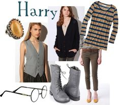 Harry Potter inspired outfit.