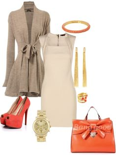 Cute dressy casual outfit by Mervolution
