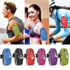 7 Colors Fashion Man Women Running Riding Nylon Jogging Sport Armband Gym Arm Bag Phone Pouch Case Cover for Cell phones 5.7inch Digital Guru Shop