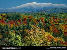 "North Conway, NH for Fall foliage (A.K.A. ""Leaf Peeping "" up here in New England)"