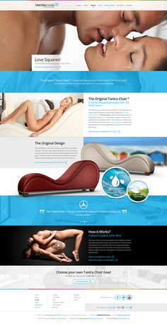 The Tantra Chair by Miro Koljanin, via Behance Modern Web Design, Web Ui Design, Web Design Trends, Tantric Chair, Dominant Quotes, Web Layout, Tantra, Web Design Inspiration, Hoe