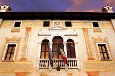 Particolare Municipio - #Spilimbergo 2012 Most Beautiful, Beautiful Places, Alps, Mansions, House Styles, Home Decor, Italia, Decoration Home, Room Decor