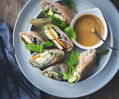 Gezonde wraps met boekweitnoedels en courgette ♥ Foodness - good food, top products, great health