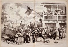 Thomas Nast Illustration of Quantrill's Raid on a Western Town    http://www.sonofthesouth.net/Thomas_Nast.htm