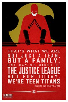 Tim Drake quote from g3n3s1s studios