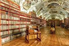 Strahov Monastery Library - Prague,  Czech Republic