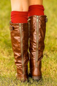 Out In The Air Boots Chocolate   $44.00