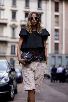 Street style from Milan fashion week spring/summer '15