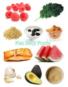 Flat Belly Food Guide to go along with working out