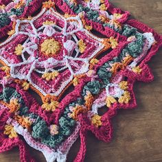 Crochet Stitches Patterns, Stitch Patterns, Butterfly Effect, Squares, Free Pattern, Blanket, Photo And Video, Color, Stitching