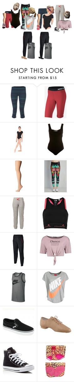 """Dance This Week -Stones"" by our-poly-friends ❤ liked on Polyvore featuring Alo Yoga, NIKE, Miss Selfridge, Bloch, Dimensione Danza, adidas, Boohoo, Vans, Capezio and Converse"