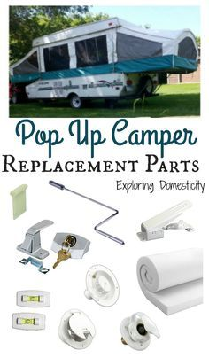 It\'s not as hard as you think to find parts for your tent trailer. Here are Pop Up Camper Replacement Parts you can find Tent Trailer Camping, Pop Up Camper Trailer, Tent Trailers, Camping Glamping, Travel Trailers, Diy Camping, Camping Stuff, Jayco Pop Up Campers, Best Pop Up Campers