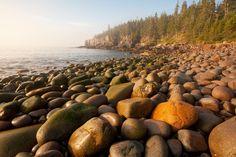 Boulder Beach Acadia National Park Maine