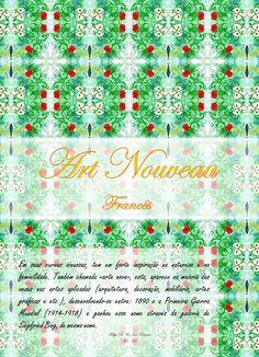 Art Nouveao Francês, trabalho acadêmico criado em parceria com Felipe Menzes.