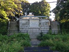 The North Shore Branch began service in 1886 on tracks owned by the Baltimore & Ohio Railroad and offered passenger service until The tracks were kept in use for freight until Baltimore And Ohio Railroad, North Shore, Guide Book, Abandoned Places, Bridges, Planes, New York City, Trains, Boats