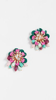 Kate Spade New York Vibrant Life Statement Studs | SHOPBOP