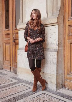 outfit night out winter chic ~ outfit night out winter outfit night out winter casual outfit night out winter classy outfit night out winter club outfit night out winter jeans outfit night out winter chic outfit night out winter ideas Fall Winter Outfits, Spring Outfits, Autumn Winter Fashion, Spring Fashion, Boho Style Dresses, Women's Fashion Dresses, Mode Outfits, Casual Outfits, Look Boho Chic