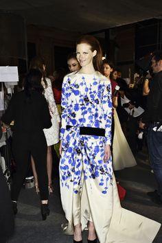 Giambattista Valli Haute Couture Show PAris BAckstage, for more pics http://sonnyphotos.com/2014/01/giambatista-valli-haute-couture-show-paris-backstage