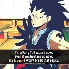 The source of Anime quotes & Manga quotes Fairy Tail Love, Fairy Tail Anime, Fairy Tail Characters, Anime Characters, I Love Anime, All Anime, Otaku, Fairy Tail Quotes, Fariy Tail
