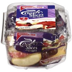 Crunch Pak Sweet Apple Slices With Grapes, 12.5 oz