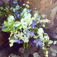 local wedding flowers by pyrus. So artistic! Floral Wedding, Wedding Bouquets, Wedding Flowers, Pyrus, Lily Of The Valley, Violets, Flower Beds, Spring Flowers, Spring Wedding