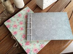 Handmade Fabric Notebooks