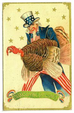 Thanksgiving Day-Dia de acción de Gracias- via Allday