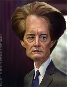 Kyle-MacLachlan.     For more great pins go to @KaseyBelleFox