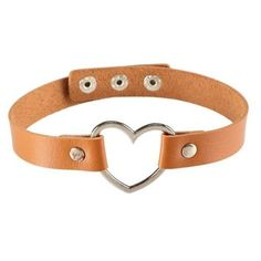 Heart Collar Choker Statement Necklace