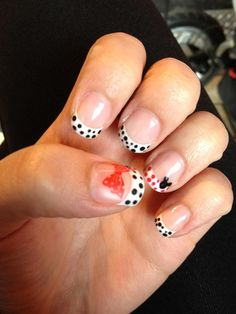 Disney nails! I love these, now if I can get my nails to grow to a length to do this.