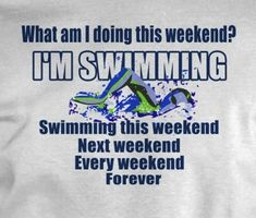 So true anyone who got me this would be my favorite person Swimming Memes, Swimming Diving, Keep Swimming, Swimming Funny, Competitive Swimming, Synchronized Swimming, Swim Team Shirts, Swimmer Quotes, Swimmer Problems