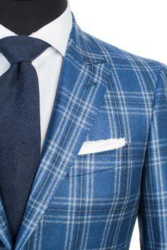 Cutlass Blue Plaid Sport Coat