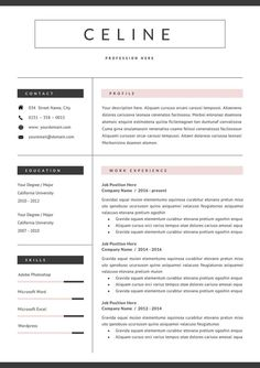 This template is fully editable and easy to customize in Microsoft Word. Anything in template can be removed if it's not necessary in your resume. You can also move and duplicate anything in the template. Don't like the original colors? You can also create your own color palette Resume Cv, Resume Design Template, Cv Template, Best Resume, Resume Tips, Cover Letter Template, Letter Templates, Resume Templates, Unique Resume