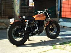 Honda cb250rs The Nugget