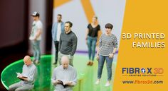 Capture and Print People, Families, Pets, Teams and More! Book Now 3D Printed Families