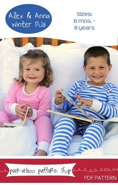 Image of Alex & Anna Winter PJs: 6 mos. - 8 years
