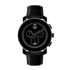 Movado BOLD Black 43.5mm Chronograph Watch