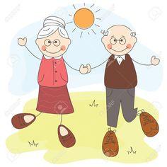 avós e netos clipart gratuito - Pesquisa Google