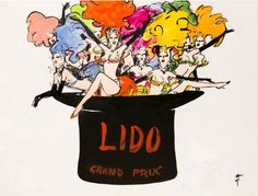 LIDO Grand Prix 1969 - GRUAU