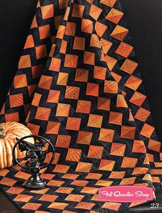 Halloween Quilt at Bewitched Threads Book Need'l Love #Q27 - Fat Quarter Shop