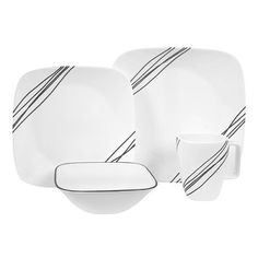 Corelle Square 16-Piece Dinnerware Set, Service for 4 ($55.19)