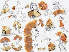 Les petits objets illustrés de Victor Nunes