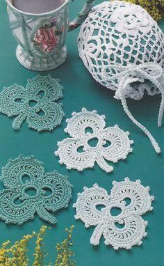 How to Crochet a Shamrock pattern