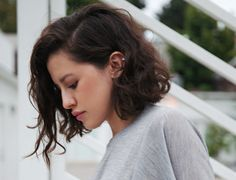 Karla Deras. Love this for everyday curly bob.