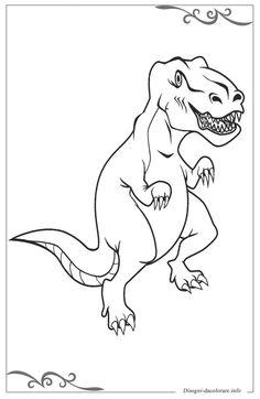 Colouring Pages For Kids Dinosauri Disegni Per Bambini Da Stampare E Colorare Sfoglia Gratis Nuova