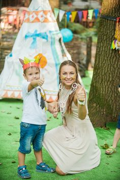 Детский праздник в стиле Индейцы. Харьков. Www.kids-prazdnik.com.ua