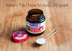 Get simple tips on storing dry yeast for best results. Baking Tips, Bread Baking, Cooking Ideas, Cooking Recipes, Easy Bake Oven, Kitchen Witchery, Bread Board, Baking Supplies, Food Facts